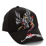 Ed Hardy Boys Panther Cap-Black