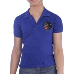 Ed Hardy Kids Panther Polo - Royal Blue