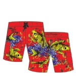 Ed Hardy boys Toddlers Swim Board Shorts - Red