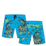 Ed Hardy boys Toddlers Swim Board Shorts - Turquoise