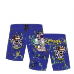 Ed Hardy Boys Swim Board Shorts - Marine