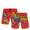 Ed Hardy Boys Swim Board Shorts - Red