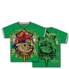 Ed Hardy Toddlers Bulldog Double Tshirt- Green