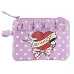 Ed Hardy Girls Fiona  Wristlet - Purple