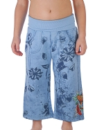 Ed Hardy Kids Girl Sweatpants-Aqua