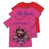 Ed Hardy Print and Rhinestones Tshirt for Toddlers - Red