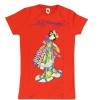 Ed Hardy Print and Rhinestones T-Shirt for Teens - Red