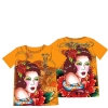 Ed Hardy Bling Tshirt for Girls - Mandarine