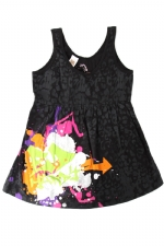 Ed Hardy Vintage Tank Top for Girls -Black