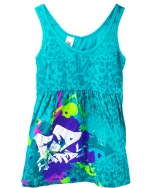 Ed Hardy Vintage Tank Top for Toddler -Seafoam