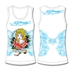 Ed Hardy Racer Tank Top for Girls - White