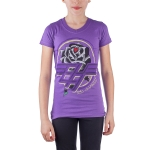 Ed Hardy Toddlers V-Neck  Girls Tunic - Purple