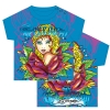 Ed Hardy Basic Foiled Tee Shirt for Infants - Turquoise