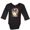 Ed Hardy Infants Value Pirate Cutie Onesie - Black
