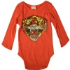 Ed Hardy Infants Value Onesie - Orange