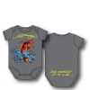 Ed Hardy Infants Value Newborn Onesie - Dark Grey
