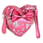 Ed Hardy Girls Lilly Wristlet- Pink