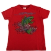 Ed Hardy Boys Fish Tshirt - Red