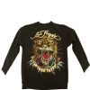 Ed Hardy Boys Tiger Pullover Sweatshirt- Black