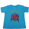 Ed Hardy Baby Girls Heart Tee Shirt