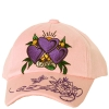 Ed Hardy Baby Knit Love Cap - Pink