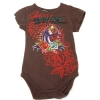 Ed Hardy Baby Panther Onesie - Brown