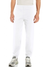 Russell Athletic Men's Dri-Power Closed Bottom Fleece Pant - White