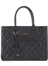 Joe's Jeans Quilted Shopper Tote - Black