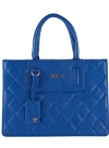 Joe's Jeans Quilted Shopper Tote - Blue