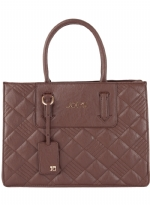 Joe's Jeans Quilted Shopper Tote - Brown