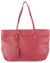 Joe's Jeans City East West Shoppers Tote - Red