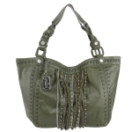 Buffalo David Bitton Juliet Tote- Green