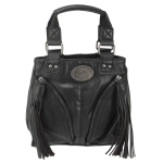 Buffalo David Bitton Joni Small Tote- Black