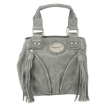 Buffalo David Bitton Joni Small Tote- Grey
