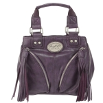 Buffalo David Bitton Joni Small Tote- Purple