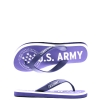 US Army Desert Sand Womens Sandal - Purple