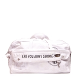 US Army Drum Duffle Bag - White