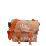 US Army Lee Messenger  Bag - Orange