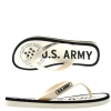US Army Desert Sand Womens Sandal - Off White
