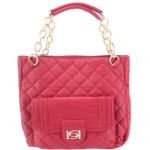 Bebe Darcey Tote-Red