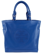 Tory Burch Kipp Tote-Blue