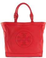 Tory Burch Kipp Tote-Red
