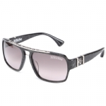 Affliction ERIK Sunglasses - Black/Silver