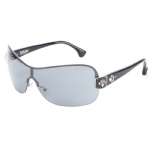 Affliction MOXIE Sunglasses - Black Silver