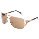 Affliction REX Sunglasses - Gold/Black