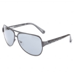 Affliction WARRIOR Sunglasses - Gun/Black