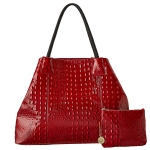 Big Buddha Ambrose Tote - Cherry