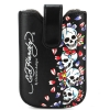 Ed Hardy Universal Smartphone Skull Sleeve With Pull Tab & Snap Case