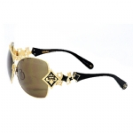 Affliction Angelina Sunglasses - Gold/Bronze