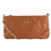 Bebe Woven Jeanie Crossbody -Taupe